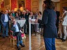 Frans Banninck Cockpenning voor journalist Max van Weezel