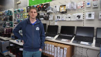 """Ramkraak op PC Warehouse: """"Binnen drie minuten weer buiten"""""""