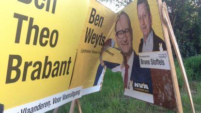 "Minister Weyts (N-VA) slachtoffer van vandalisme: ""Dappere tegenstanders"""