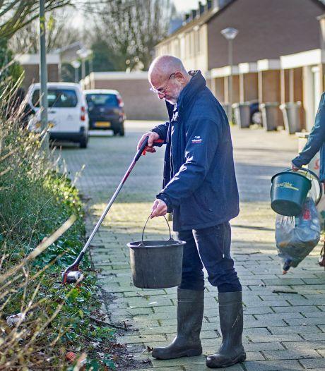 Ferd en Mieke ruimen elke week kilo's zwerfaval op in Oss: 'Niemand wil toch in de troep wonen?