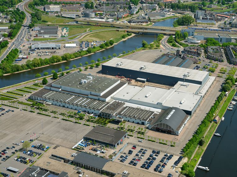 De Brabanthallen in Den Bosch. Beeld Aerophoto-Schiphol