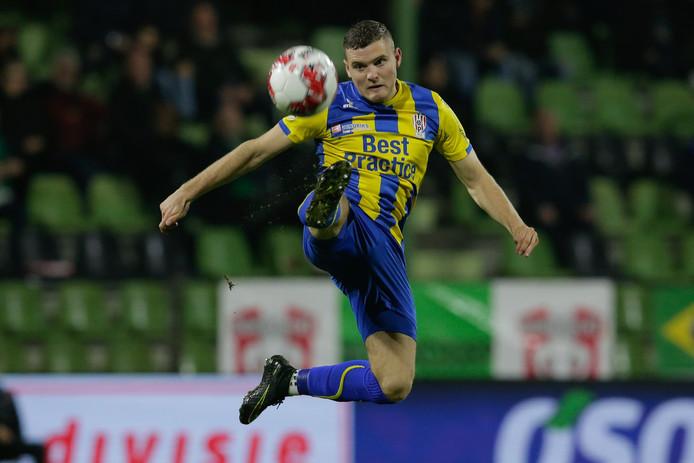 Philippe Rommens bezorgde TOP Oss met zijn doelpunt een punt, maar verliet Dordrecht met gemengde gevoelens.