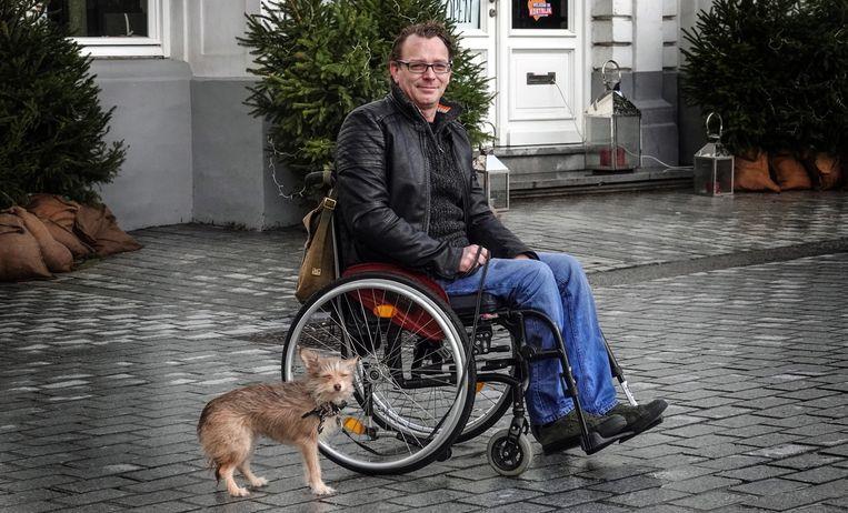 Jan is heel blij en dankbaar voor de mensen die hem willen helpen.
