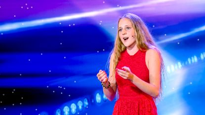 """Operazangeres Camille (15) neemt deel aan Belgium's Got Talent: """"Ik ga hetzelfde lied zingen als zes jaar geleden"""""""