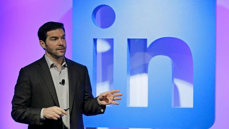LinkedIn-topman Jeff Weiner. Beeld AP