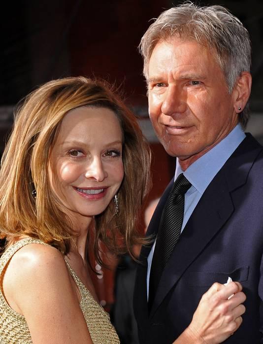 Harrison Ford en zijn vriendin Calista Flockhart zijn al járen samen, ook al schelen ze 23 jaar.