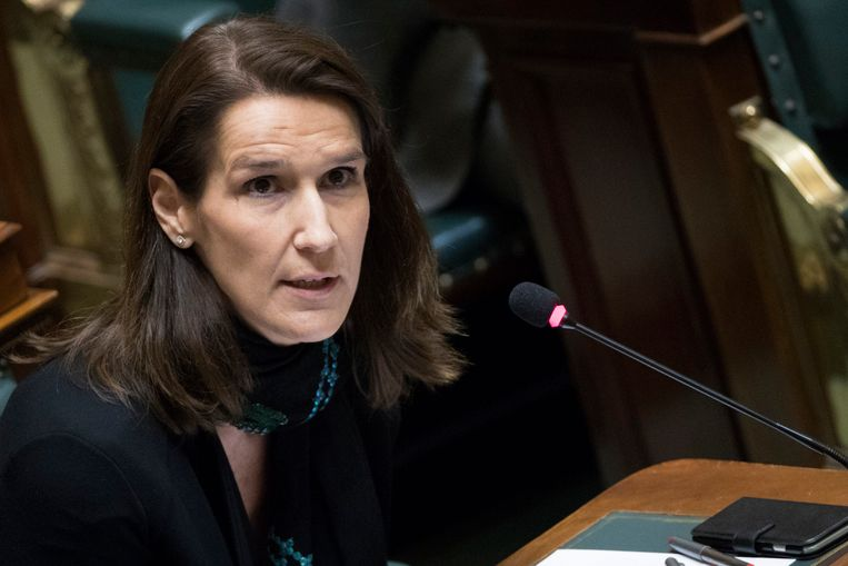 Minister van Begroting, Sophie Wilmès.