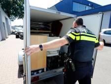 Illegale handel tiert op bedrijventerrein in Helmond: actieteam vindt hennep, sigaretten en gestolen waar