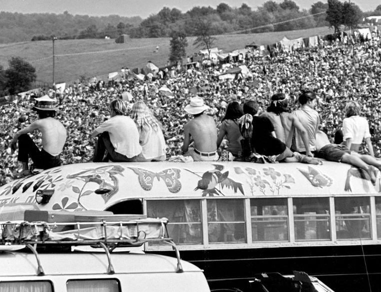 Uit de documentaire 'Woodstock' (1970). Beeld hh