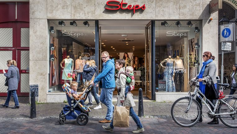 Een winkel van Steps in Utrecht. Beeld Raymond Rutting / de Volkskrant