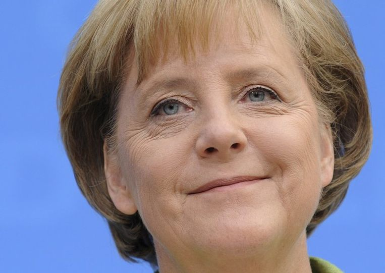 Angela Merkel. Foto EPA Beeld