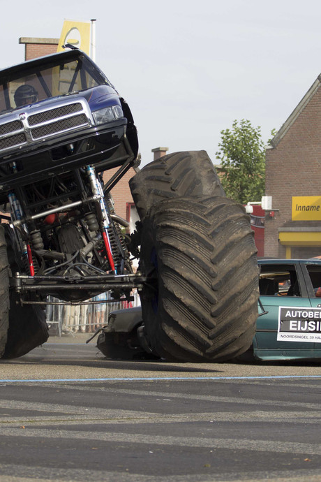 Donald Duck-strip monstertruck blijft op plank na Haaksbergen