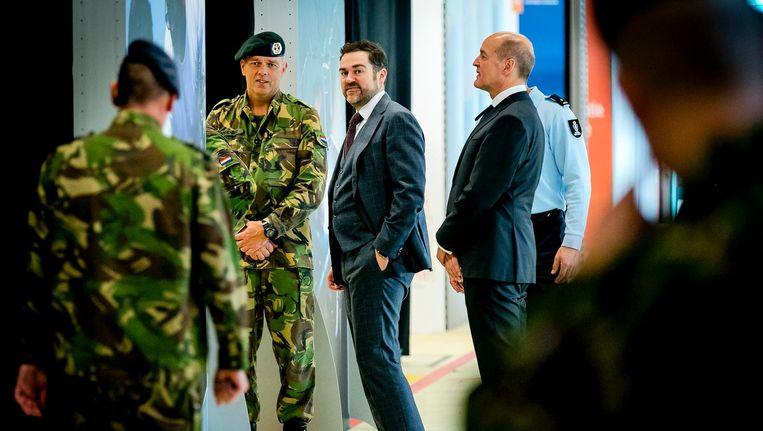 Plaatsvervangend minister van Defensie Klaas Dijkhoff. Beeld anp