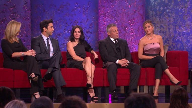Reünie van Friends bij NBC. Beeld NBC