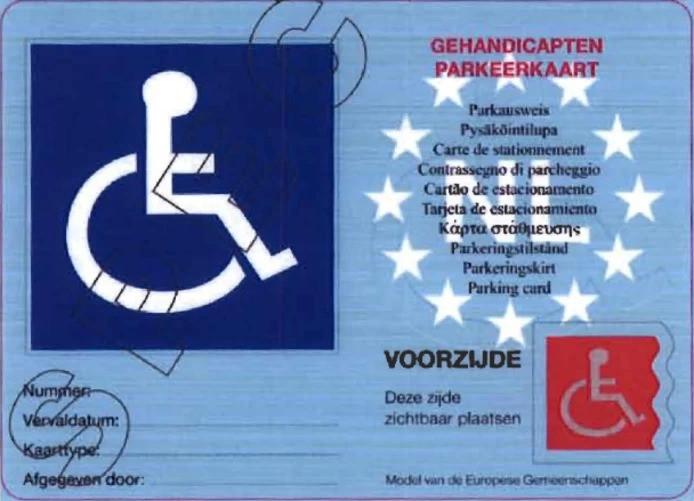Voor het aanvragen van een gehandicaptenparkeerkaart moeten de inwoners van de gemeente Hellendoorn vanaf 1 januari 125 euro betalen, de helft meer dan nu nog het geval is.