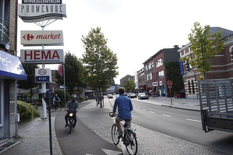 De ovonde, waar fietsoversteekplaatsen gewoon zijn