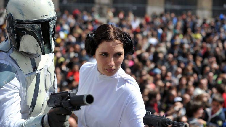 Een Star Wars-fandag in Rome.