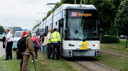 Kop-staartbotsing met trams: één gewonde