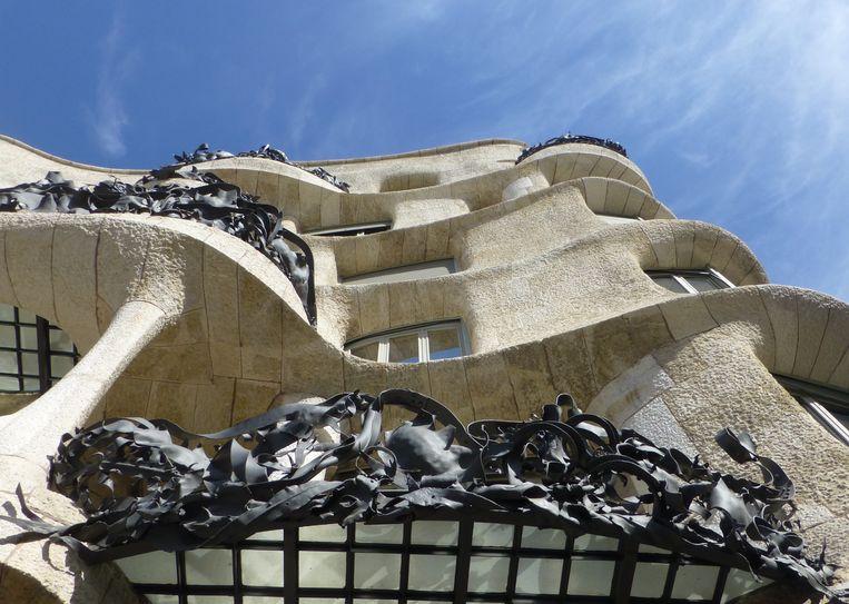 La Pedrera van Gaudí in Barcelona Beeld Foto Museum Het Schip