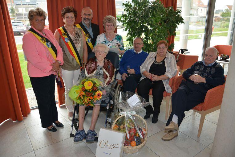 Maria Maes is de oudste inwoner van Middelkerke.