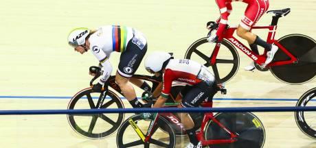 Kirsten Wild pakt na val brons op madison met Amy Pieters