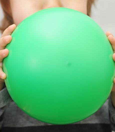 Onderzoek: Aantal ballonnen geeft kankerverwekkende stoffen af
