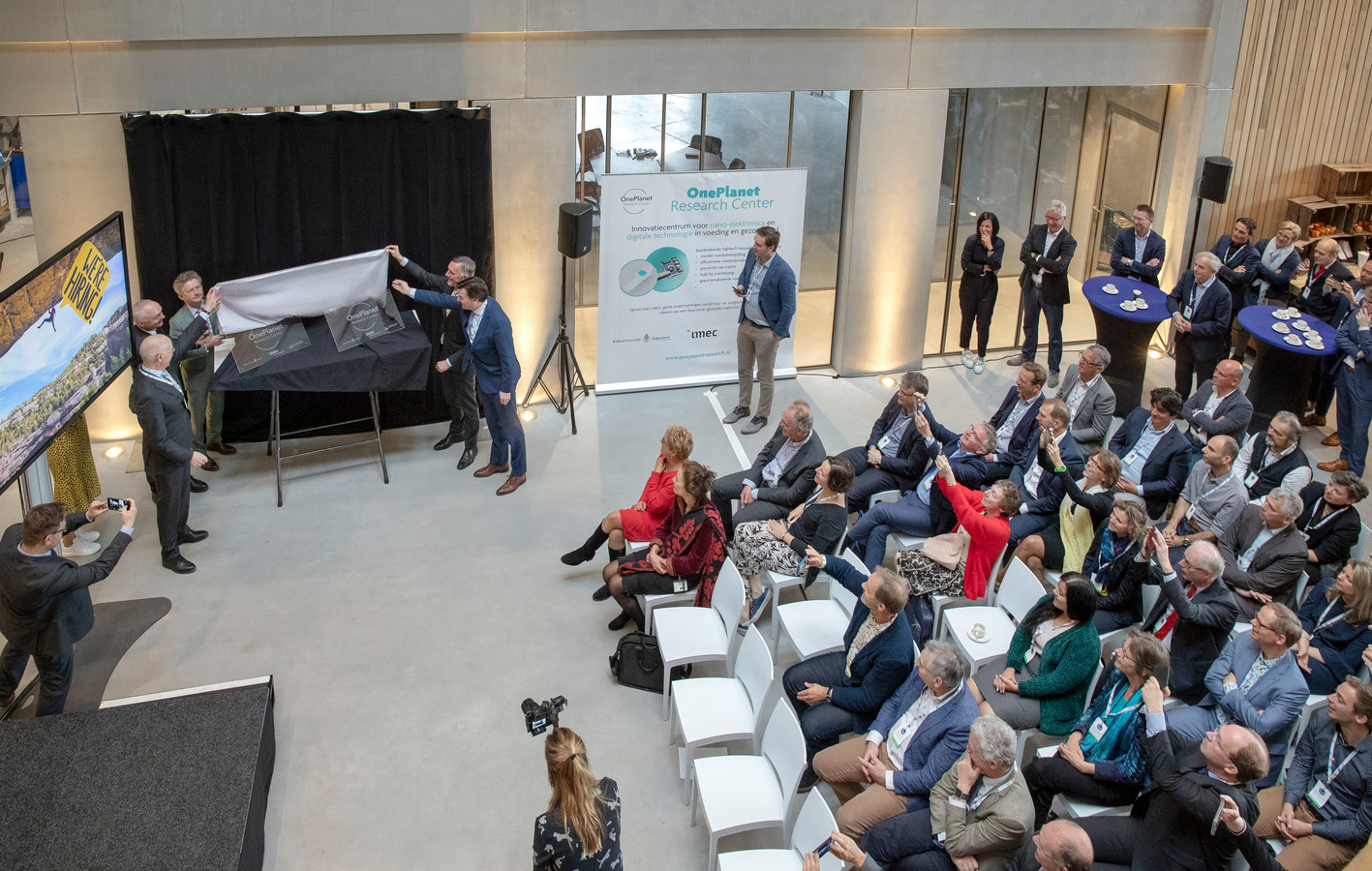 De start van One Planet, gisteren in Wageningen