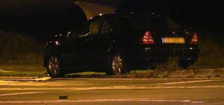 Auto's total loss bij aanrijding in Enschede