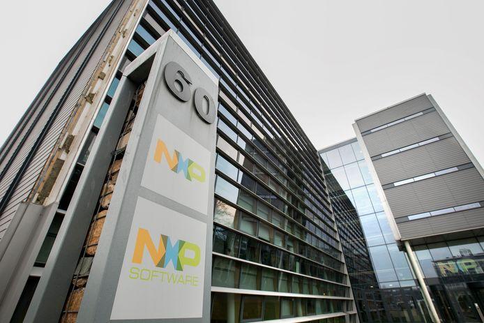 Kantoor van NXP op de High Tech Campus in Eindhoven.