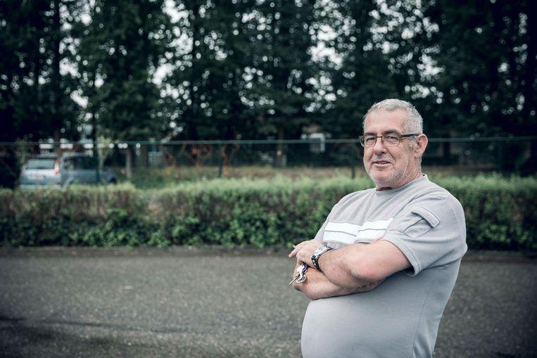Dirk Martens kwam zijn zoon ophalen en hoorde van het verhaal.