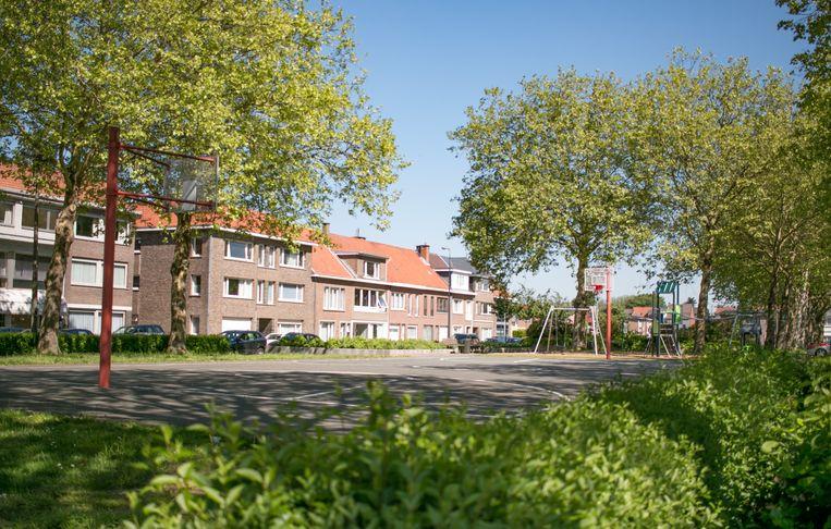 Het Jan Breydelplein.
