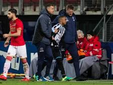 Duarte breekt kuitbeen, ook Van den Buijs lang uitgeschakeld bij Heracles
