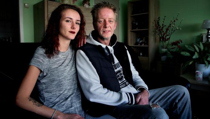 Rochelle en haar vader Martin