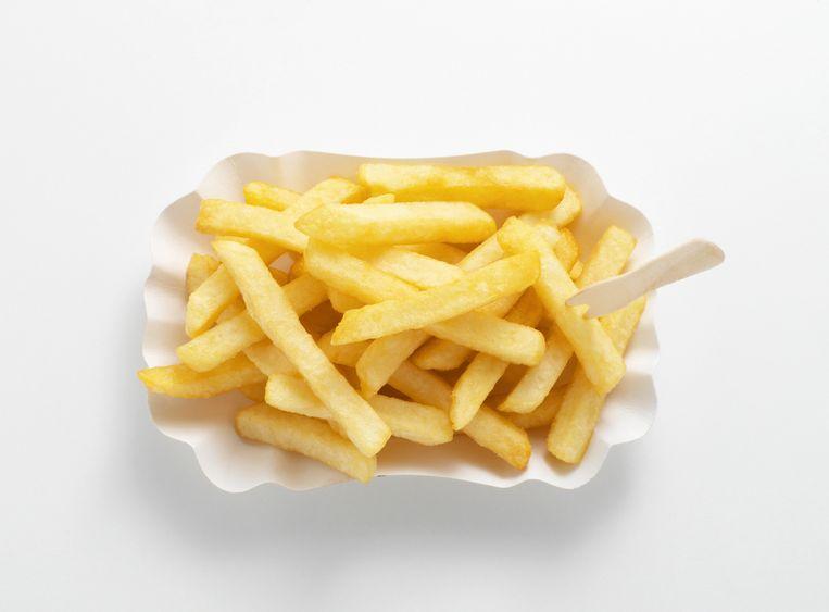 De frieten worden almaar kleiner.