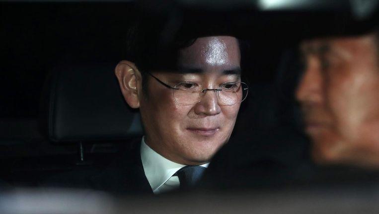 Samsung-topman Jay Y. Lee. Beeld bloomberg