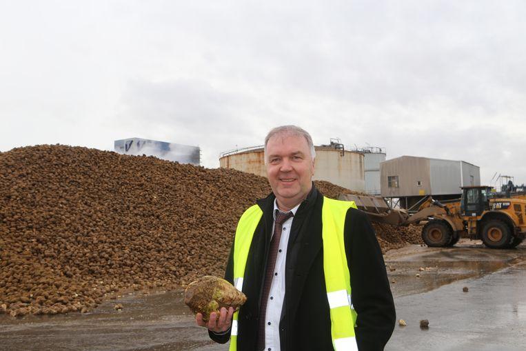 Jan Ingels, directeur van de Tiense Suikerfabrieken.