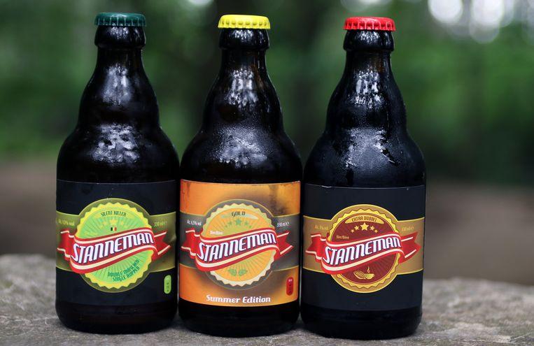 De drie bieren van Stanneman.