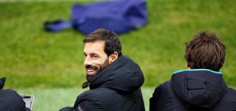 Ruud van Nistelrooy is ook als trainer gretig, maar niet haastig