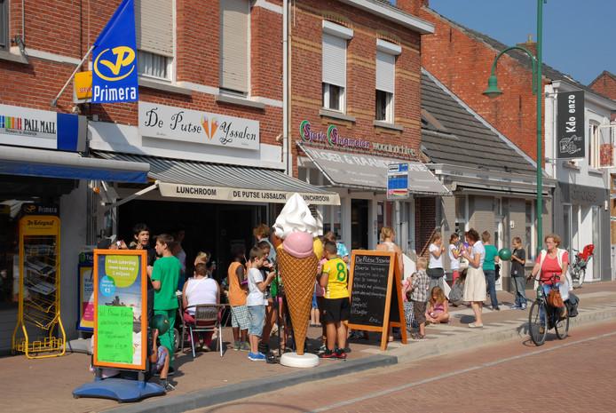 Voor een dorp van nog geen vierduizend inwoners heeft Putte in verhouding veel winkels en horecazaken.