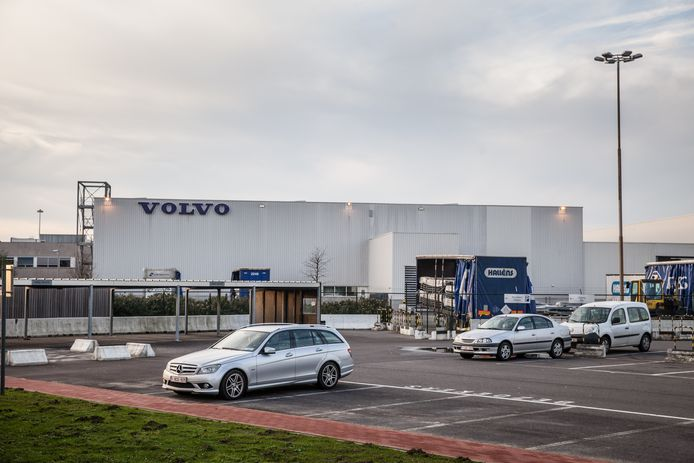 De site van Volvo Europa Truck in Oostakker.