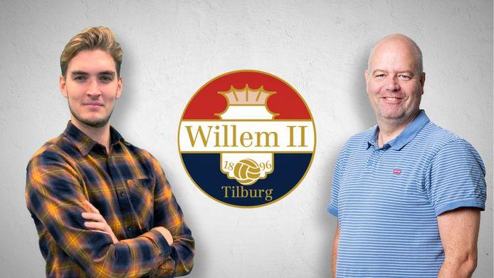 Clubwatchers Pim Bruijnzeels en Max van der Put.