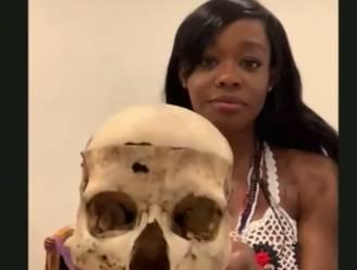 """Azealia Banks ontkent dat ze haar dode kat kookte en opat: """"Maar ik heb wel de schedel van een 6-jarig meisje in huis"""""""