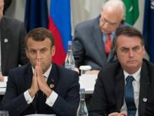 """""""Crétin"""": Macron insulté sur Twitter par un ministre de Bolsonaro"""