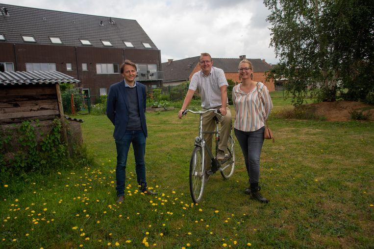 De gemeente Wichelen gaat extra speelpleintjes aanleggen onder meer in een voetweg aan de Bruinbeke.