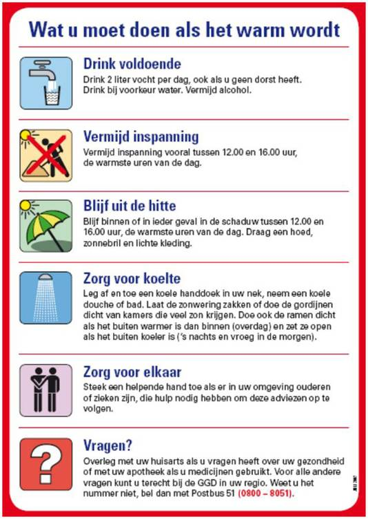 Vanaf morgen al bloedheet | Binnenland | AD.nl