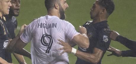 Défaite, penalty raté et chambrage: drôle de première pour Higuain avec l'Inter Miami