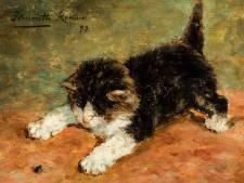 Tentoonstelling van kattenschilderijen is best bezochte ooit voor museum in Vianen