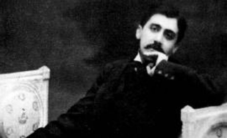 Marcel Proust rond 1905. Beeld
