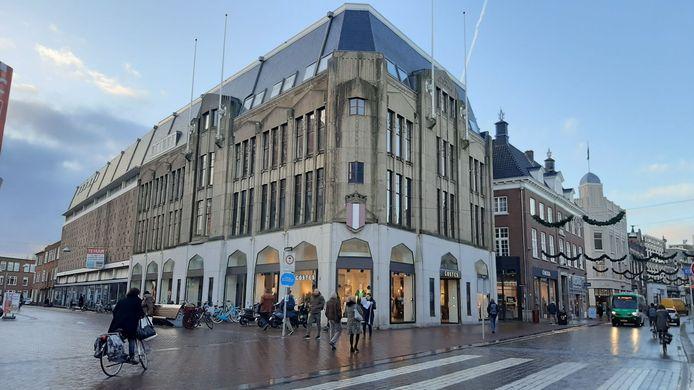 Het Lindershuis aan de Bagijnhof in Dordrecht.