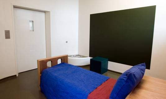 Een kamer in zorginstelling De Woenselse Poort
